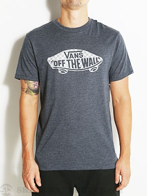 Vans OTW Checkerboard Fill Tee Navy Heather SM