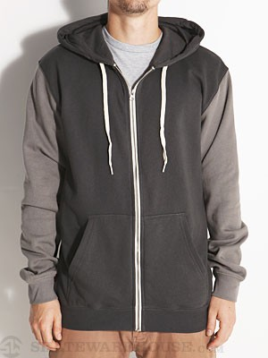 Vans Core Basics Colorblock Hoodzip Charcoal SM
