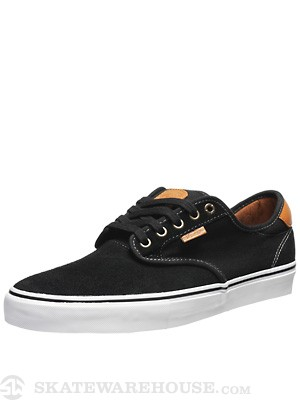 Vans Chima Pro Shoes  Black/White/Tan