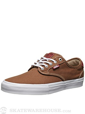 Vans Chima Pro Shoes  Rubber/Red