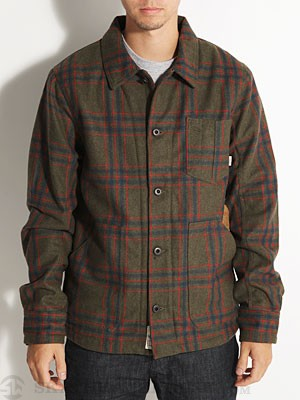 Vans Cheviot Jacket Green SM