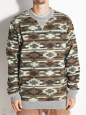Vans Esher Crew Sweatshirt Native Camo XL