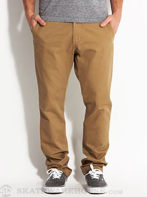 Vans Excerpt Chino Pants Brown 28