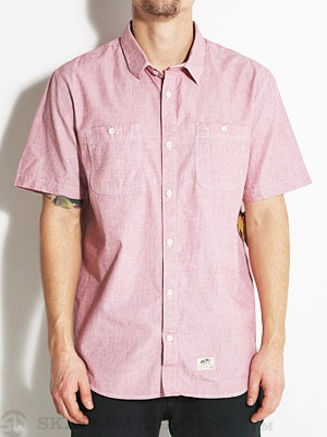 Vans Guilder Woven Shirt Red LG