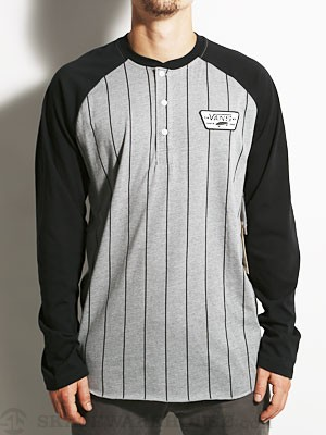 Vans Louisville Henley Charcoal/Black MD