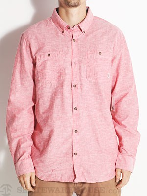 Vans Hosmer Woven Shirt Red MD
