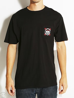 Vans x Indy Pocket Tee Black SM