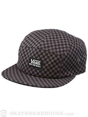 Vans Jaspar 5 Panel Camper Hat Black