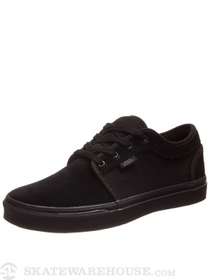 Vans Kids Chukka Low Shoes  Black/Black