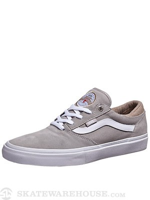 Vans Crockett Pro Shoes  Grey/White/Tan
