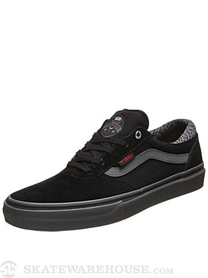 Vans x Independent Crockett Pro Shoes  Black/Charcoal