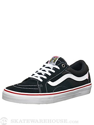 Vans AV Native Shoes  Black/White/Scarlet