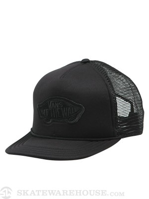 Vans Patch Trucker Black