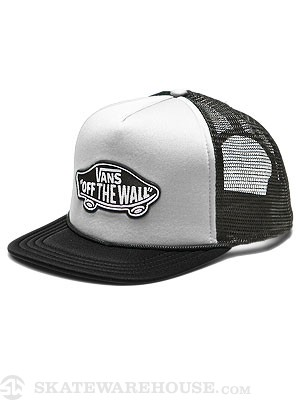 Vans Patch Trucker White/Black