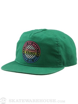 Vans Rotund Snapback Hat Green Adjust