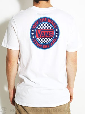 Vans Rotund Tee White MD