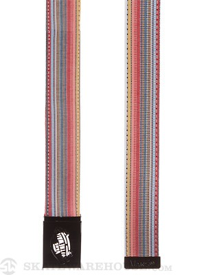 Vans Reverse Web Belt Red/Assorted