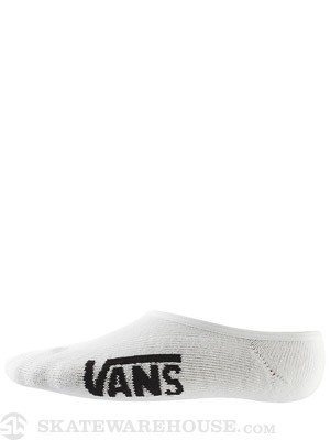 Vans Super No Show Socks White 10-13