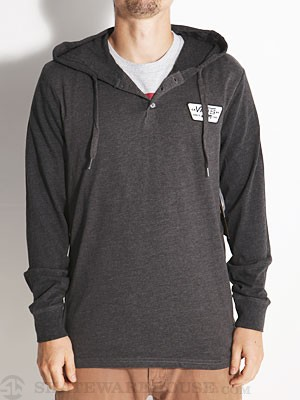 Vans Sterne Hooded Henley Charcoal/Black SM
