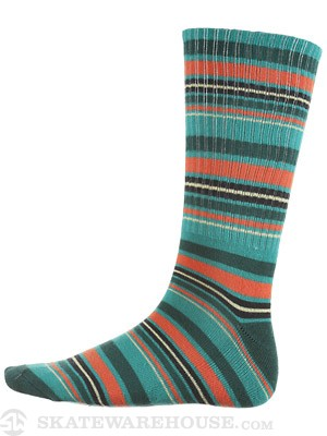 Vans Striper Crew Socks Blue 10-13