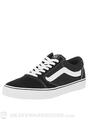 Vans TNT 5 Shoes  Black/White