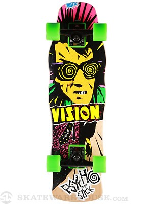 Vision Psycho Stick Nat. Mini Cruiser Comp. 8.0 x 28.5