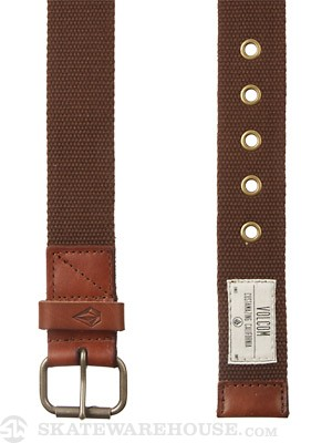 Volcom Back Country Belt Brown 32