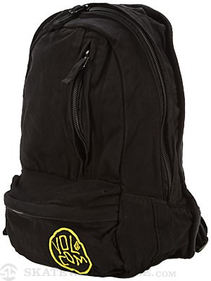 Volcom Basis Slouch Canvas Backpack Black/TIB