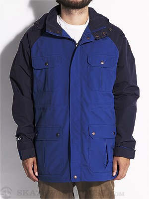 Volcom Backstep Jacket Blue SM