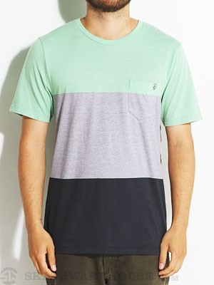Volcom Blakely S/S Crew Knit Green MD