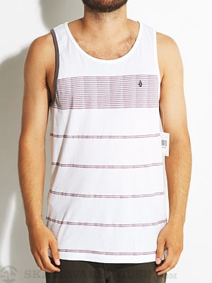 Volcom Blackout Grout Tank Top White XXL
