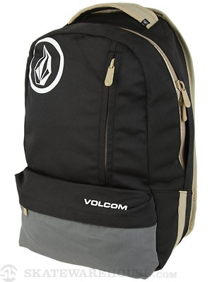 Volcom Basis Solid Backpack Black/Charcoal