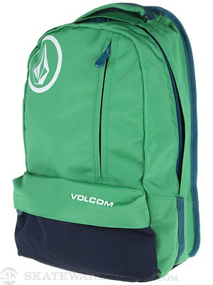 Volcom Basis Solid Backpack Green