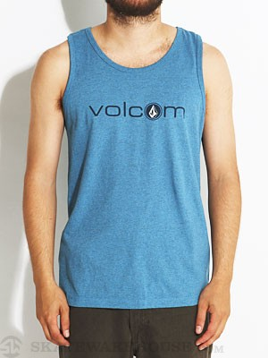 Volcom Corpies Tank Top Blue/PBL XL