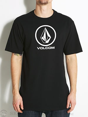 Volcom Circle Staple Tee Black SM