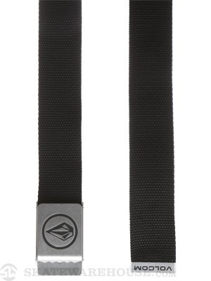Volcom Circle Web Belt Black Adjustable