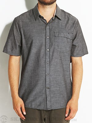Stone Age Doorman Woven Shirt Black SM
