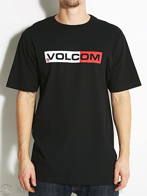 Volcom Euro Styling Tee Black MD