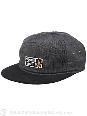 Volcom Stone Age Fabric Break Hat Grey Adjust