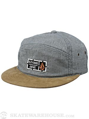 Volcom Stone Age Fabric Break Hat Olive Adjust