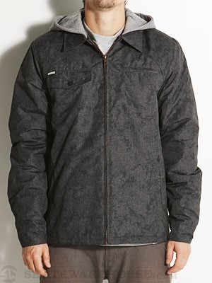 Volcom Faceted Lined Jacket Charcoal/CHR MD