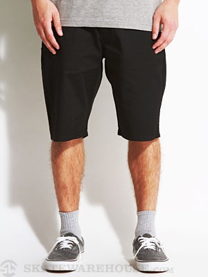 Volcom Frickin Modern Stretch Shorts Black 28