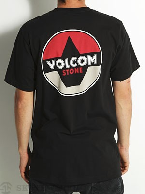 Volcom Fractional Tee Black XL