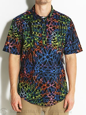 Volcom Far Out Woven Shirt Purple/PFF SM