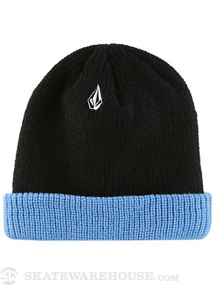 Volcom Full Stone Two Way Beanie Black