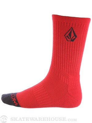 Volcom Stone Age Full Stone-Age Socks Red/DPR
