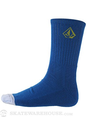 Volcom Full Stone Socks Coastal Blue/CBL