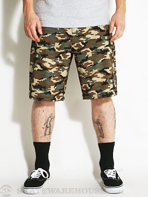 Volcom Frickin V4S Hybrid Mix Short Military 28
