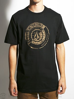 Volcom Global Connotations Tee Black MD