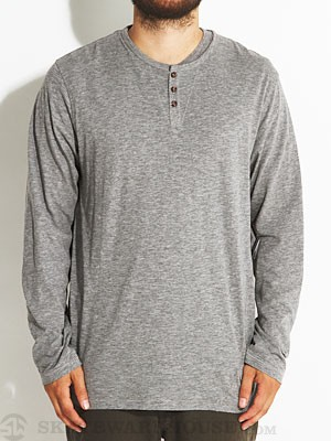 Volcom Goodland L/S Henley Shirt Black MD